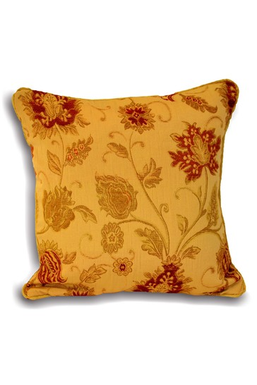 Zurich Jacquard Feather Filled Cushion by Riva Home