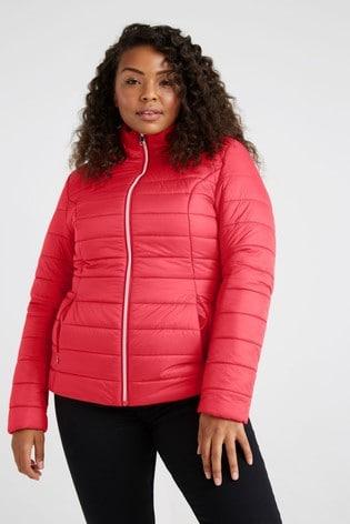 F&F Red Short Padded Coat