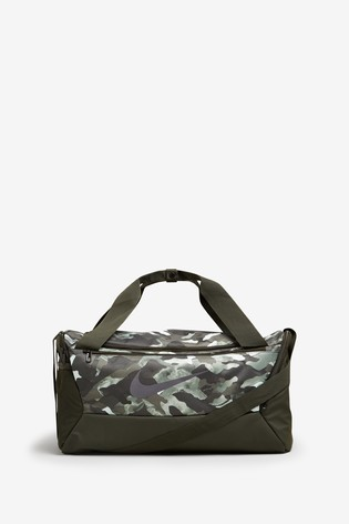 Nike Brasilia Training Small Camo Duffle Bag
