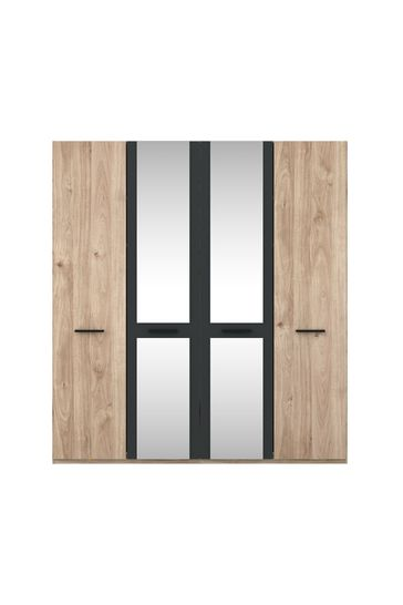 Jenson Hinged 4 Door Wardrobe