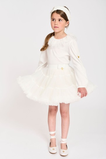Angel's Face White Pixie Tutu Skirt