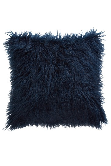 Tess Daly Faux Mongolian Cushion