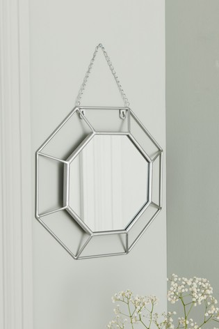 Deco Facet Mirror