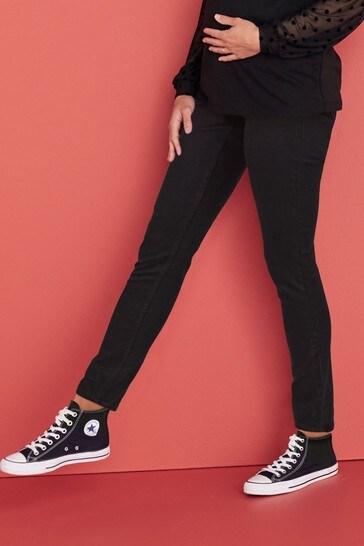 Black Maternity Slim Jeans