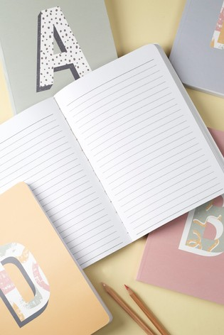 A5 Alphabet Notebook