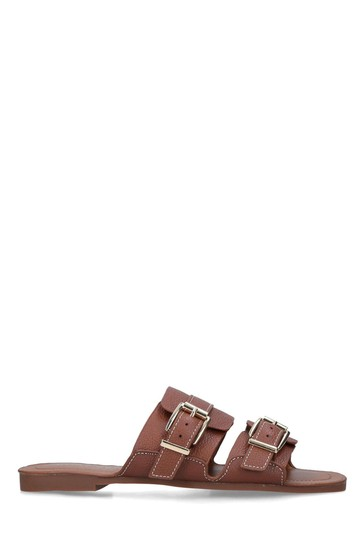 Kurt Geiger London Natural Oslo Sandals
