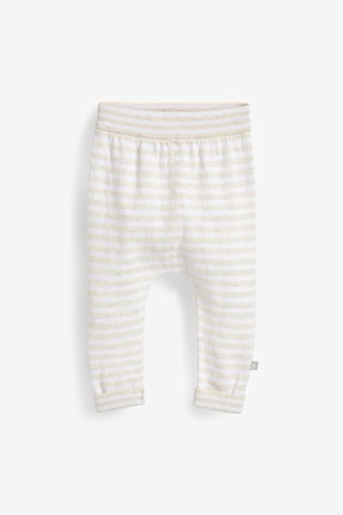 The Little Tailor White Baby Knitted Pants