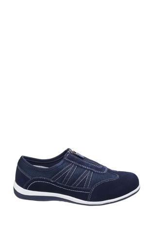 Fleet & Foster Blue Mombassa Comfort Shoes