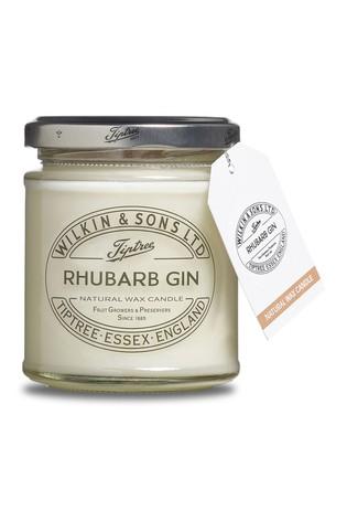 Rhubarb Gin Jam Jar Candle by Tiptree