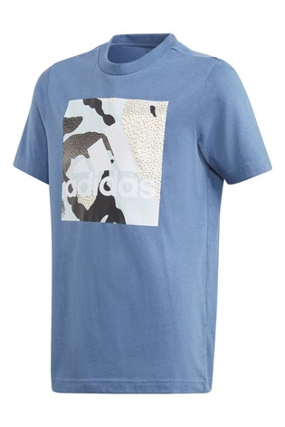 adidas Camo Box Graphic T-Shirt