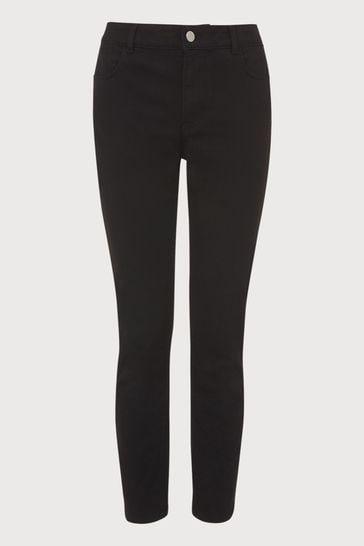 LK Bennett Black Grace Slim 5 Pocket Jeans