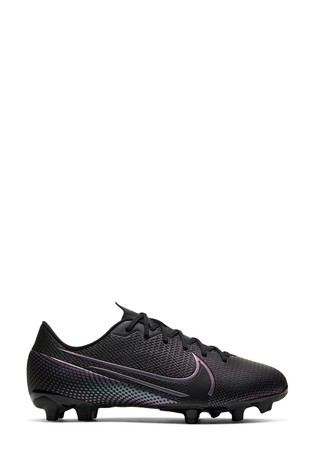Nike Black Mercurial Vapor 13 Academy Multi Ground Junior And Youth Football Boots