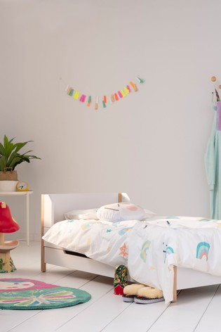 Clouds Cot Duvet Cover and Pillowcase Set by EVE