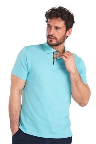 Barbour® Tartan Pique Poloshirt