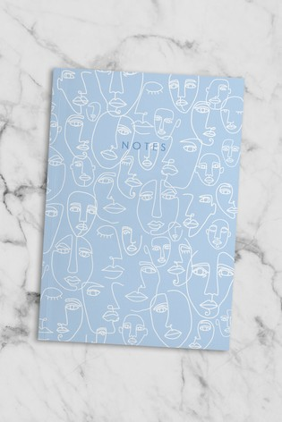 Central 23 Faces Notebook