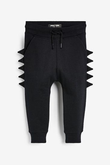 Black Spike Joggers (3mths-7yrs)