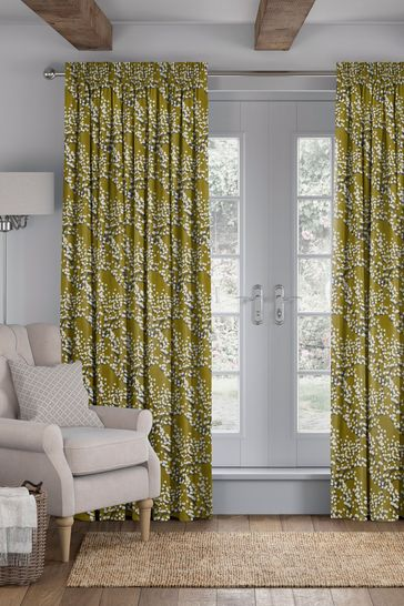 Albion Mimosa Yellow Made To Measure Curtains
