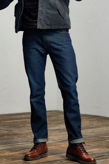 FatFace Blue Slim Dark Vintage Wash Jeans