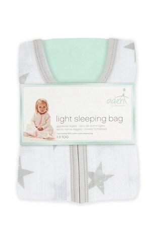 aden + anais Essentials Grey 1.0 Tog Summer Sleeping Bag