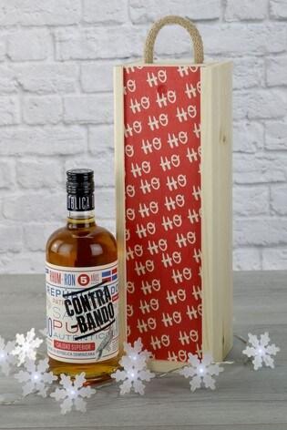 Ho Ho Ho And A Bottle Of Rum Gift Set by Le Bon Vin