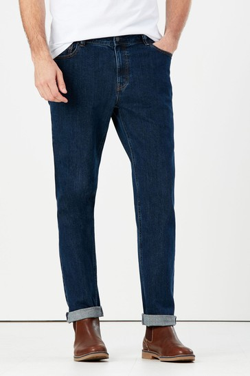 Joules Blue 5 Pocket Straight Jeans