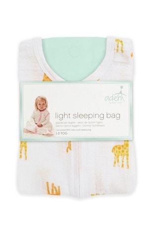 aden + anais Essentials White 1.0 Tog Summer Sleeping Bag