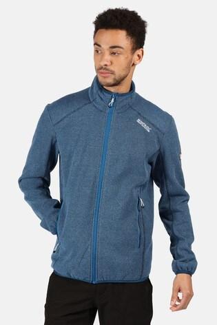 Regatta Blue Torrens Full Zip Fleece