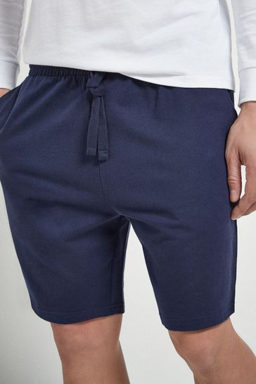 Navy Without Stag Shorts Lightweight Loungewear