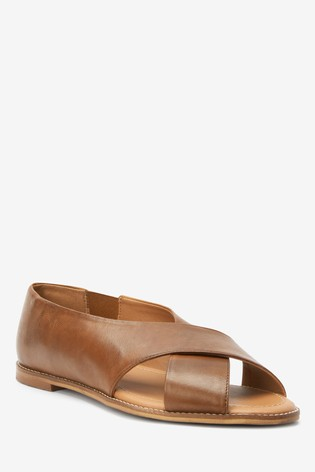 Buy Leather Peep Toe Shoes from Next