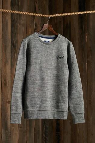 Superdry Orange Label Classic Crew Sweatshirt