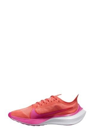 Nike Run Orange/Pink Zoom Gravity Trainers
