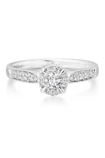 Beaverbrooks 18ct Diamond Solitaire Ring