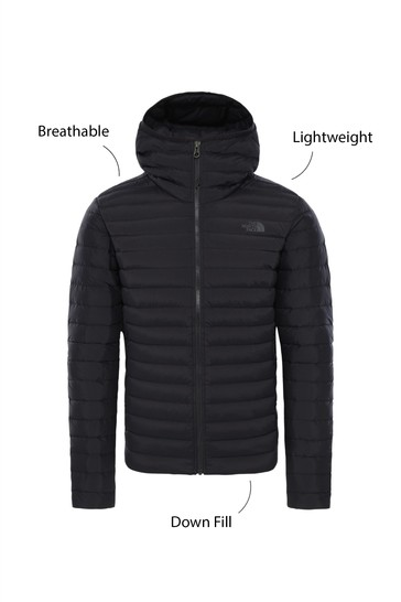 The North Face Mens Black Hoodie