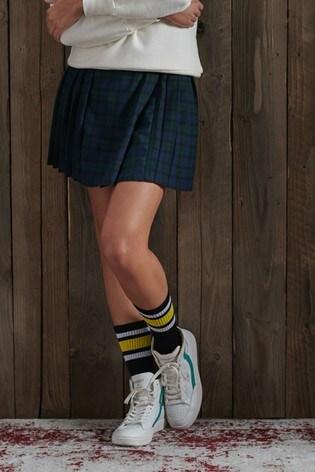 Superdry Molly Check Mini Skirt
