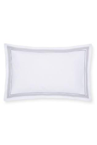 Bianca White Hepburn Cotton Oxford Pillowcases