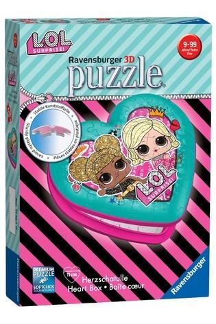 Ravensburger L.O.L Surprise! Heart Shaped 54pc 3D Jigsaw Puzzle