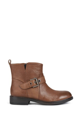 Geox Women's Catria Brown Boots
