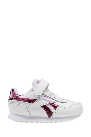 Buy Reebok White Glitter Royal Jogger