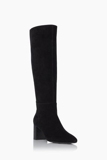 Dune London Santie Block Heel Knee High Boots