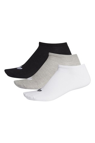 adidas Originals Adults Trefoil Trainer Socks 3 Pack