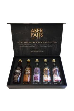 Set of 5 5cl Gin & Vodka Taster Gift Set by Aber Falls