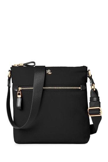 Lauren Ralph Lauren Jetty Soft Nylon Cross-Body Bag