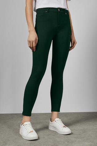 Ted Baker Strenti Stretch Zip Detail Jeans