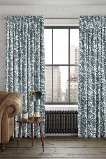 Albion Seafoam Green Made To Measure Curtains