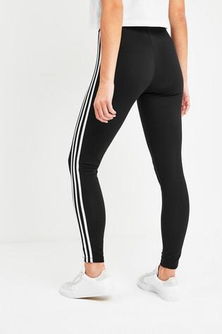 adidas Originals Mid Rise 3 Stripe Leggings
