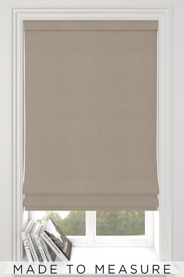 Eloise Pewter Grey Made To Measure Roman Blind
