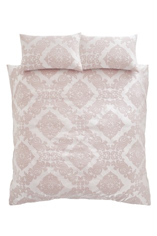 Rococo Jacquard Duvet Cover and Pillowcase Set by Catherine Lansfield