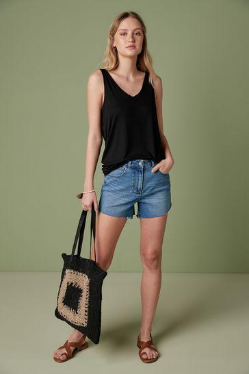 Black Slouch Vest