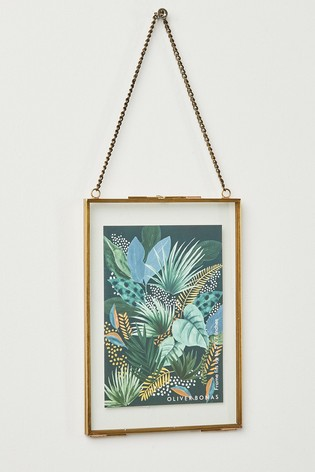 Oliver Bonas Gold Hanging Wall 5x7 Frame