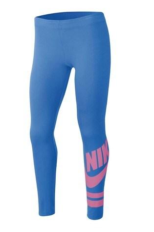 Nike Blue/Pink Favourite Leggings